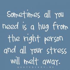 I love hugs! Wordt echt te weinig gedaan. Ik zou een perfecte Amerikaan zijn!