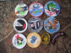 10 DIFF MISC  PATCHES- LOT  11