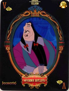Governor Ratcliffe (Cards by Maleficent84 @deviantART) #Pocahontas