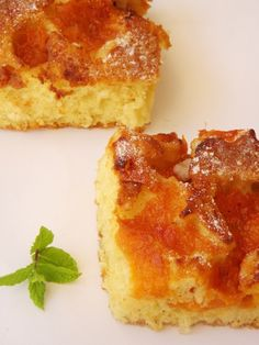 Barackos sütemény Cornbread, French Toast, Cheesecake, Paleo, Food And Drink, Breakfast, Ethnic Recipes, Millet Bread, Morning Coffee