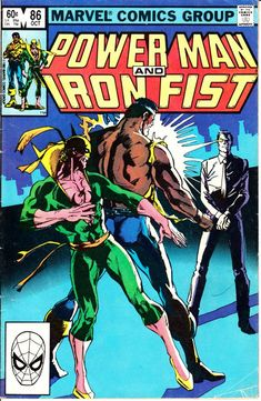 Power Man and Iron Fist Hero for Hire) October 1982 Issue - Marvel… Iron Fist Comic, Iron Fist Marvel, Comic Book Characters, Comic Character, Comic Books Art, Marvel Characters, Book Cover Art, Comic Book Covers, Book Art