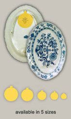#1 Butter Pat Plate Hanger for Wall Invisible Adhesive Disc Plate Hanger (for small plates and butter pats) 1 1/4\   sc 1 st  Pinterest & The plates are hung using adhesive discs. The 4\
