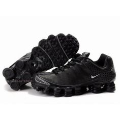 #Nike #sports Nike Shox Shoes, Nike Mens Shoes Buy Nike Shox TL3 Black Silver 68
