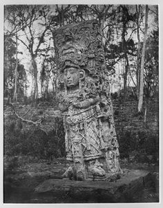 Maya Copan Stela found in At the Brooklyn Museum, USA. Mayan Ruins, Ancient Ruins, Ancient Artifacts, Ancient History, European History, Ancient Greece, Ancient Egypt, American History, Aztec Pictures