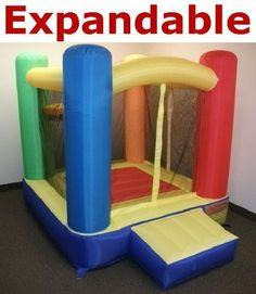 """New Expandable Model - My Bouncer Little Castle Bounce 72"""" L x 72"""" W x 72"""" H Ball Pit Bopper w/ Ball Hoop & Entry Step (Other Models & Sizes Available, Sold thru separate Amazon Listing) by My Bouncer. $139.95. This product is manufactured exclusively for CMS with non-PVC Puncture Resist Nylon material. The unique material similar to materials use to built Parachutes and/or Camping Tent w/ a Phthalate Free colorless rubber coating/backing to retain air. For single k..."""