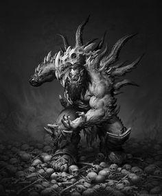 ArtStation - The Art of Warcraft Film - BlackHand , Wei Wang