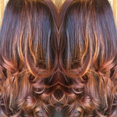 Balayage ombré technique that I did on a client. Bronding!  by Kirstin at Dolly Quinn Salonspa in Tucson AZ