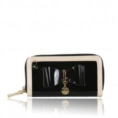 LYDC PATENT BOW PURSE