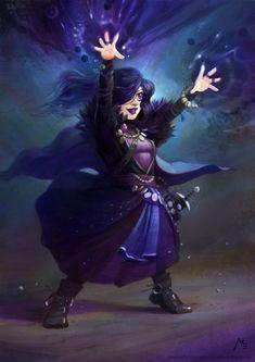 Gnome sorceress by Vaejoun on DeviantArt