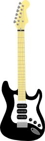 Electric Guitar clip art