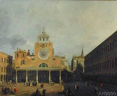 Giovanni Antonio Canaletto - The S. Giacomo di Rialto Square in Venice
