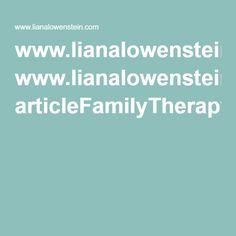 www.lianalowenstein.com articleFamilyTherapy.pdf