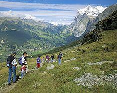 Eiger Trail - Schweiz Mobil - Wanderland