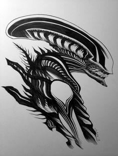 Alien by Tradd Moore