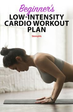 This Beginners Low-Intensity Cardio Workout Plan is a great choice to gently burn substantial calories. Fitness Models, You Fitness, Fitness Tips, Fitness Motivation, Health Fitness, Fitness Challenges, Senior Fitness, Cardio Workout Plan, Butt Workout