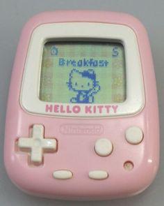 VINTAGE-Hello-Kitty-virtual-pet-Pedmeter-Pocket-Hello-KITTY-SANRIO-NINTENDO