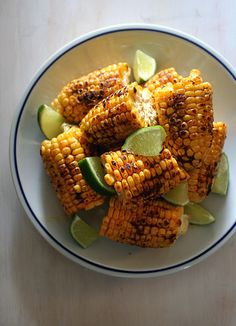(SAMPLE IMAGE FOR RECIPE - IMAGE CLICKS THROUGH TO RECIPE) BBQ Corn | higuccini.com