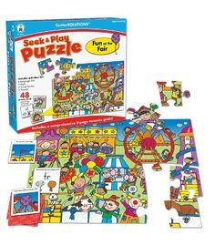 Fun at the Fair Puzzle - Carson Dellosa Publishing Education Supplies #CDWishList