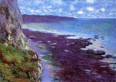 Claude Monet - Falaises près de Dieppe