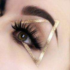Gorgeous Makeup: Tips and Tricks With Eye Makeup and Eyeshadow – Makeup Design Ideas Makeup Fx, Makeup Goals, Makeup Inspo, Makeup Tips, Hair Makeup, Makeup Ideas, Makeup Geek, Gold Makeup, Makeup Style