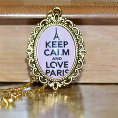 ❦ Keep Calm and... ketting van rita_art via DaWanda