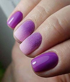 Purple Wedding Nail Art Designs 2018