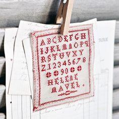 Vintage French Alphabet Sampler   Flickr - Photo Sharing!