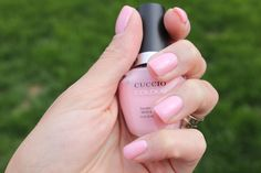 Cuccio Colour Nail Polish in Texas Rose! http://www.thebeautybuyer.ca