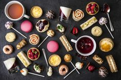 Indulge in our Luxury Afternoon Tea and enjoy views over the lake from our Dining Room, Lounge or Terrace! #foodie