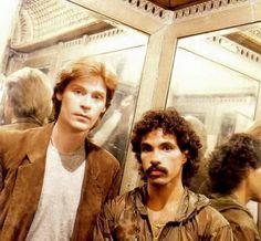 Daryl & John in an elevator.