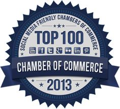Top 100 Most Social Media Friendly Chambers of Commerce - another good thing for presentations