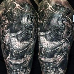 Valiant Gladiator Tattoo Designs (3)