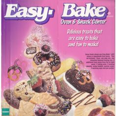 Easy Bake Oven, had one of these and about burnt my fingerprints off with the tiny pans.