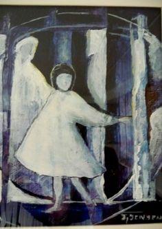 bilder malt med akrylmaling Painting, Art, Art Background, Painting Art, Kunst, Paintings, Performing Arts, Painted Canvas, Drawings