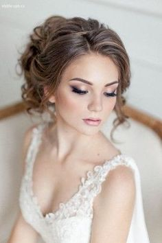 20 Gorgeous Bridal Hairstyle and Makeup Ideas for 2017 Bridal