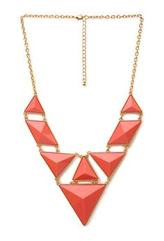 Statement Faux Stone Necklace | FOREVER21 - 1000092853