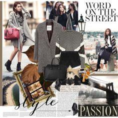 stylish fall outfit...