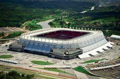 Arena Pernanbuco estadio donde jugo Mexico VS Croacia, Brasil 2014.