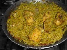 Kenyan Chicken Pilau