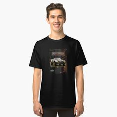 'Toyota FJ Cruiser Abmessungen' Classic T-Shirt von Toyota Fj Cruiser, Graphic T Shirts, Tandem, My T Shirt, V Neck T Shirt, Shirt Print, Surf, Daniel Johnston, Vintage T-shirts