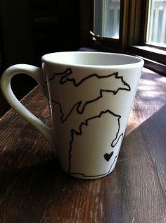 Michigan Mug Love