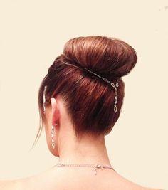 Hair Chain / Hair Jewelry / Bridal Hair Jewelry