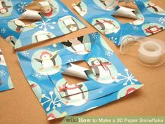 Image titled Make a 3D Paper Snowflake Step 5