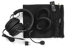 Kingston has taken a different approach with the release of HyperX Cloud II, a headset aimed at gamers who care more about substance than standing out. Nintendo Switch, Video Games Xbox, Xbox One Games, Playstation, Best Gaming Headset, Cloud Gaming, Noise Cancelling Headset, Mac, Gaming Headset