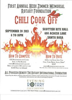 Hosting A Chili Cook Off In 5 Easy Steps Scorecard