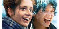 """Is this a """"Storks"""" easter egg of Blue is the warmest color? Lea Seydoux, Adele Exarchopoulos, Blue Is The Warmest Colour, Film Serie, Stork, Latest Movies, Photos, Pictures, Warm Colors"""