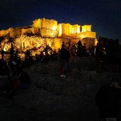 Saturday night this  is the first stop for the long night in Athens. #urbanathenscollective #hiddenathens #getlostinathens #ig_athensshots #igers_greece #nightwalk #nightlife #Athens4season #acropolis #athens #visitgreecegr #urbanexplorers #vscoathens #vscogreece #vscourban #urbanathens #visitdotorg #visitorgs #travelexplorers #travelgood #ig_athens #archaeology