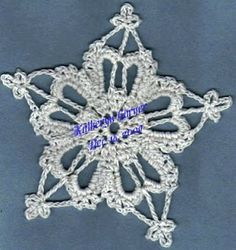 Royal Snowflake Free Pattern