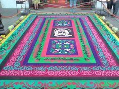 alfombras coloridas