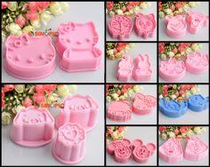 Mixed 10 Sets Fondant Cake Cookie Plunger Cutter Sugarcraft Decoration Cartoon | eBay